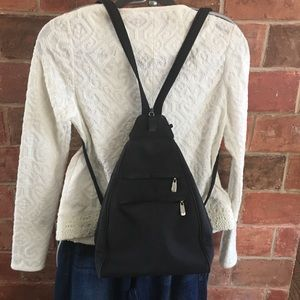 Nine West nylon backpack sling bag
